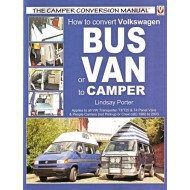 Kirja: How to convert VW bus to camper