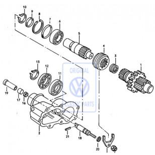 Syncro PTO:N (voiman ulosoton) käyttövivun stefa