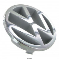 "Etumaskin merkki ""VW"" (Ø 125 mm), kromattu"