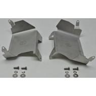 WBX suojapellit työntötangon suojaputkien alle, ruostumatonta terästä, sarja